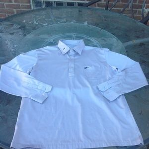 Nike mens  button  down shirt size small